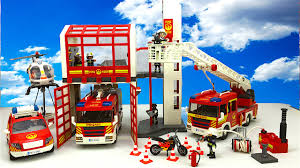 Massive Collection Playmobil Fire Rescue Toys - Fire Engines, Fire ... Playmobil 4820 City Action Ladder Unit Amazoncouk Toys Games Exclusive Take Along Fire Station Youtube Playmobil 5682 Lights And Sounds Engine Unboxing Wz Straacki 4821 Md With Rescue Playset Walmart Canada Toysrus Truck Emmajs Airport Sound Saves Imaginext Batman Burnt Batcopter Dc Vintage Playmobil 3182 Misb Ebay