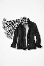 velvet trim corduroy jacket coldwater creek