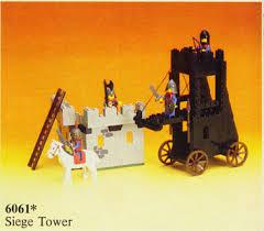 siege lego bricklink set 6061 1 lego siege tower castle knights
