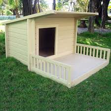 The Nature Time Dog House Is Made From Composite Wood Using Recycled Materials For Stronger Than