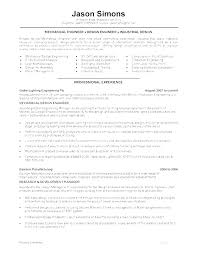 Industrial Design Resume Examples Cover Letter Engineer Sample