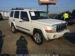 100 Salvage Truck Auction Parts Cars S 2006 JEEP COMMANDER Youngs Auto Center