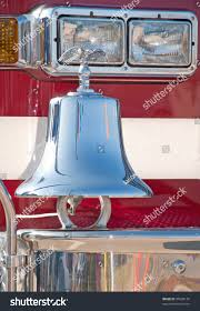 100 Fire Truck Bell Traditional Chrome On Front Bumper Stock Photo Edit Now