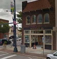 salisbury pottery 101 window vandalized in downtown salisbury