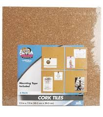 12 x 12 cork tiles cork board wall tiles joann