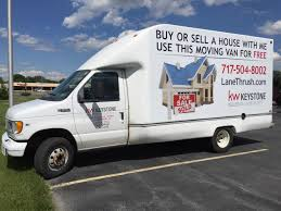 Get A Free Moving Van In Chambersburg, PA