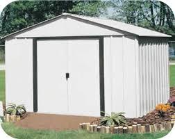 arrow galvanized steel storage shed 10x8 arlington 10x8 arrow backyard storage shed kit ar108