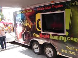 100 Truck Rental Cleveland Mobile Game Truck Inflatables Mobile Video Game Parties