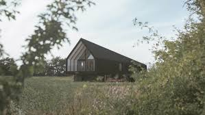 100 Bark Architects Studio Builds Offgrid Black Barn In Suffolk Meadow