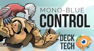 Cat Deck Mtg Goldfish by Instant Deck Tech Mono Blue Control Standard