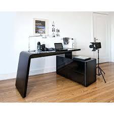 bureau noir laqué bureau noir design bureau angle design bureau design blanc et noir