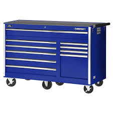 Husky 56 In. 10-Drawer Rolling Cabinet Tool Chest In Blue-VRB ...