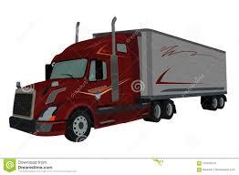 100 Truck Loader Semi Vector Illustration Stock Vector
