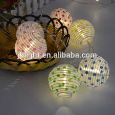 20 Warm White Battery Operated Mini Chinese Led String Paper