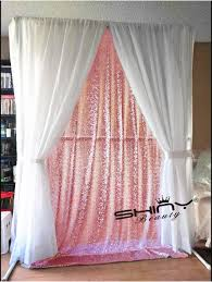 8x8 Sequin Backdrop Pink Gold DIY Photobooth Wedding Photo Booth Photography Sparkle Background Decoration In Curtains From Home