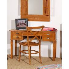 bureau teck massif bureaux meubles et rangements bureau 5 tiroirs en teck massif