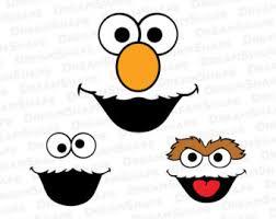 Oscar The Grouch Pumpkin Carving Stencil by Oscar The Grouch Etsy