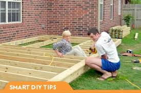 DIY Projects Build Deck