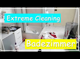 chaos im badezimmer l cleaning l clean with me l big