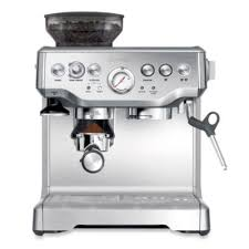 buy stainless steel espresso and coffee machine from bed bath beyond