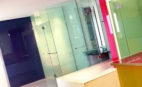 Bathroom Wall Cladding Materials by Bathroom Glass Painted Glass Wall Cladding And Coloured Splashback