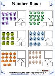 Halloween Multiplication Worksheets Grade 5 by Number Bonds Worksheets