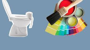 quelle couleur pour des toilettes peinture salle de bains couleurs conseils erreurs à éviter