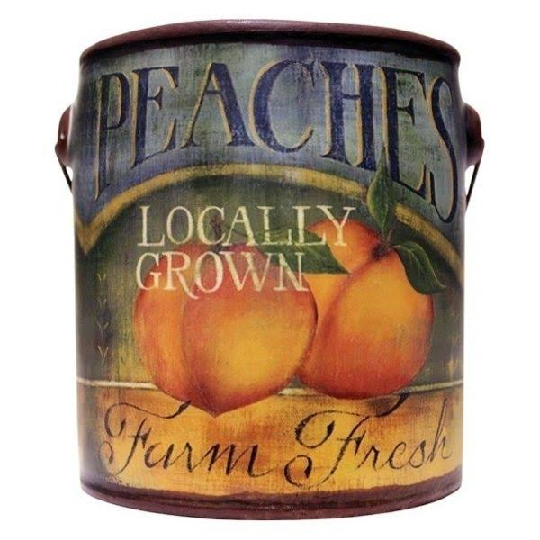 A Cheerful Giver Peaches Farm Fresh Scented Candle - 20oz