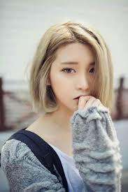 asian cute fashion girl kfashion korean pretty short hair