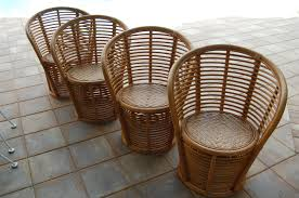 Antique Vintage Bamboo Furniture