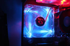 how to install a led fan into your computer easy rosewill 80mm