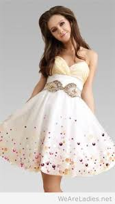 Semi Floral Dresses For Teenage Girl