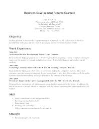 Sample Resume Example Business Objects Administration Glamorous Professional