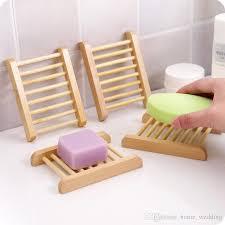 großhandel naturholz seifenschale holz seifenschale halter lagerung seife rack platte box container für bad dusche platte badezimmer home wedding