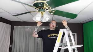 Wobbly Ceiling Fan Box by How To Fix A Ceiling Fan Wobble Youtube