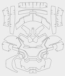 Iron Helmet Template The Gallery For Gt Cardboard