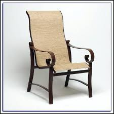 Stack Sling Patio Chair Tan by Leather Slingback Chair Small Size Of Stack Sling Patio Lounge