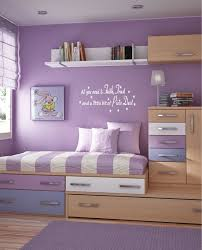 Bedroom Design Charming Purple Girls Ideas Furniture For Teenage With Violet Wall Color And Wooden