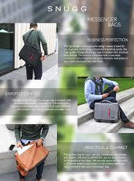 Amazon Padded Lap Desk by Amazon Com Laptop Bag Snugg8482 Crossbody Shoulder Messenger