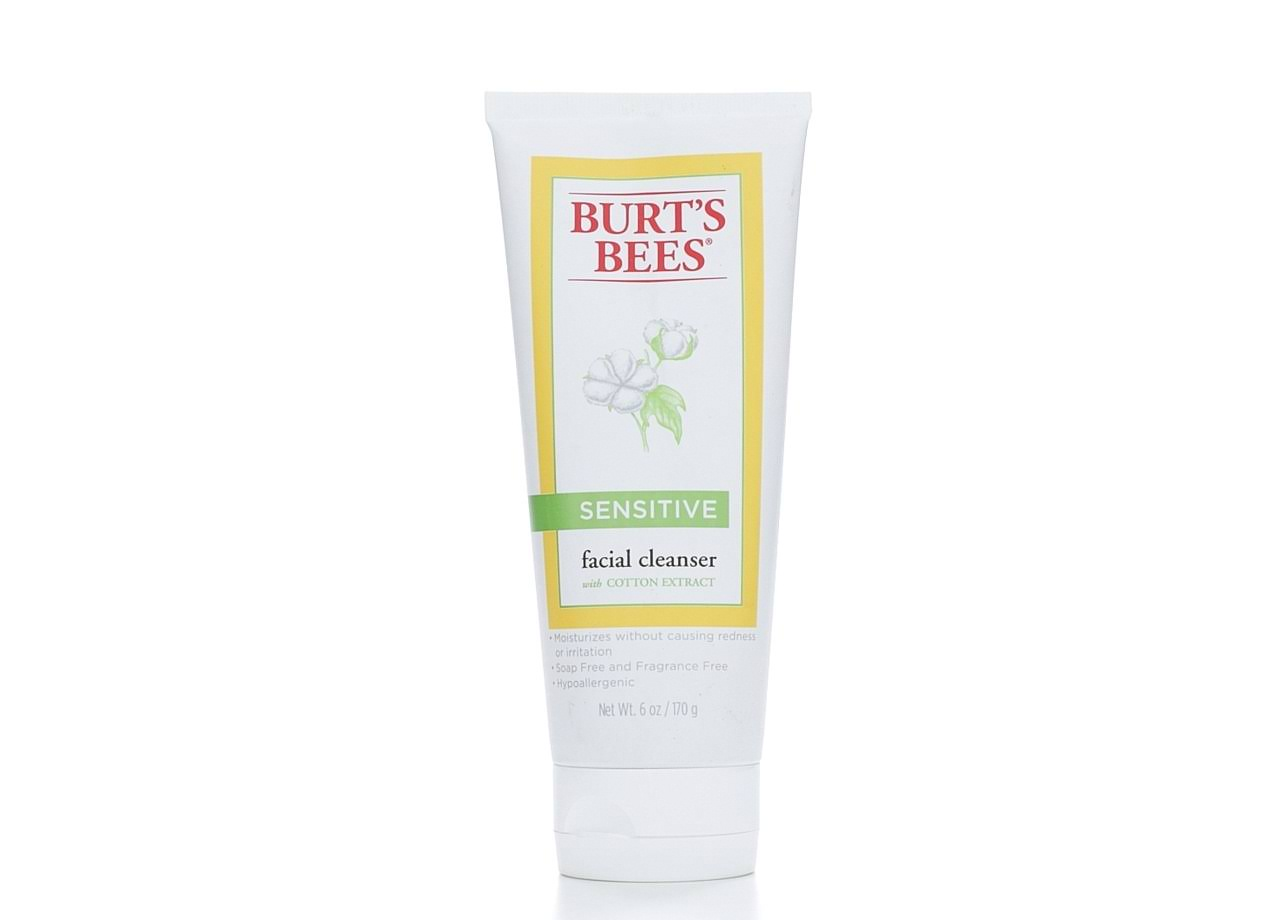 Burt's Bees Sensitive Facial Cleanser with Cotton Extract - 6oz