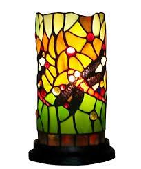 Tiffany Style Lamp Shades by Amora Lighting Am1015acc Tiffany Style Dragonfly Mini Table Lamp