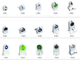 china led holder fluorescent l holder