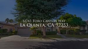 100 Toro Canyon 61743 Way Mls On Vimeo