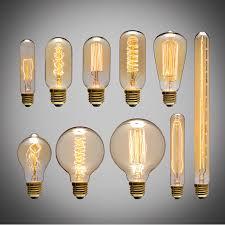 antique vintage edison bulb carbon decorative filament light bulb