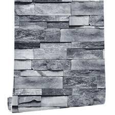 6m 3d grau stein ziegel optik tapete selbstklebende