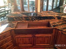 Garbage Disposal Backing Up Into 2nd Sink by Copper Sinks Workstation Sinks With Cutting Boards And Copper