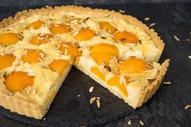mandel marzipan tarte mit aprikosen sallys