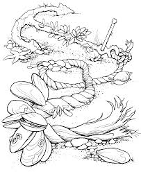 Free Ocean Coloring Pages Image 9 And For Adults