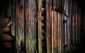 Wall Ruin Decay Rustic Wood Abstract Wallpaper