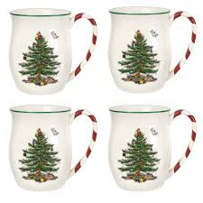 Spode Christmas Tree Mug And Coaster Set by Exquisite Design Spode Christmas Tree Mugs Buy Mug From Bed Bath